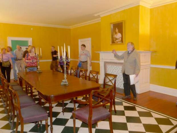 inside kings manor