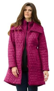 roaman's quilted coat