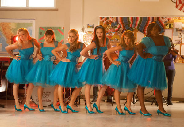 "GLEE: The girls perform in the ""Sadie Hawkins"" episode of GLEE airing Thursday, Jan. 24 (9:00-10:00 PM ET/PT) on FOX. Pictured L-R: Heather Morris, Jenna Ushkowitz, Becca Tobin, Melissa Benoist, Vanessa Lengies and Alex Newell. ©2013 Fox Broadcasting Co. CR: Eddy Chen/FOX"