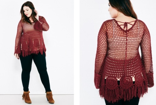 WSPlus crochet sweater