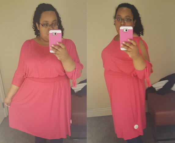 pink day dress